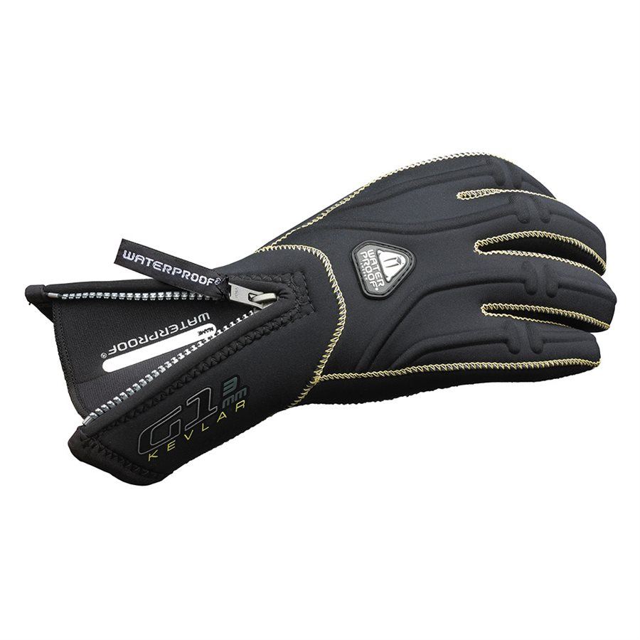 G1 Aramid Glove 5 Finger 3mm Xs